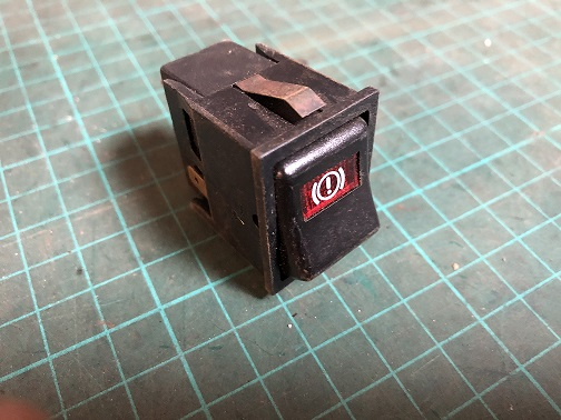 Reliant Robin Mk2 Brake Test Switch