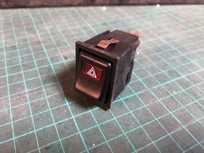 Reliant Robin Mk2 Hazard Switch
